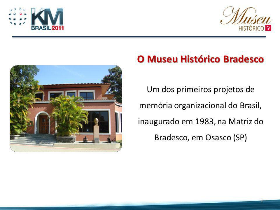 O Museu Histórico Bradesco