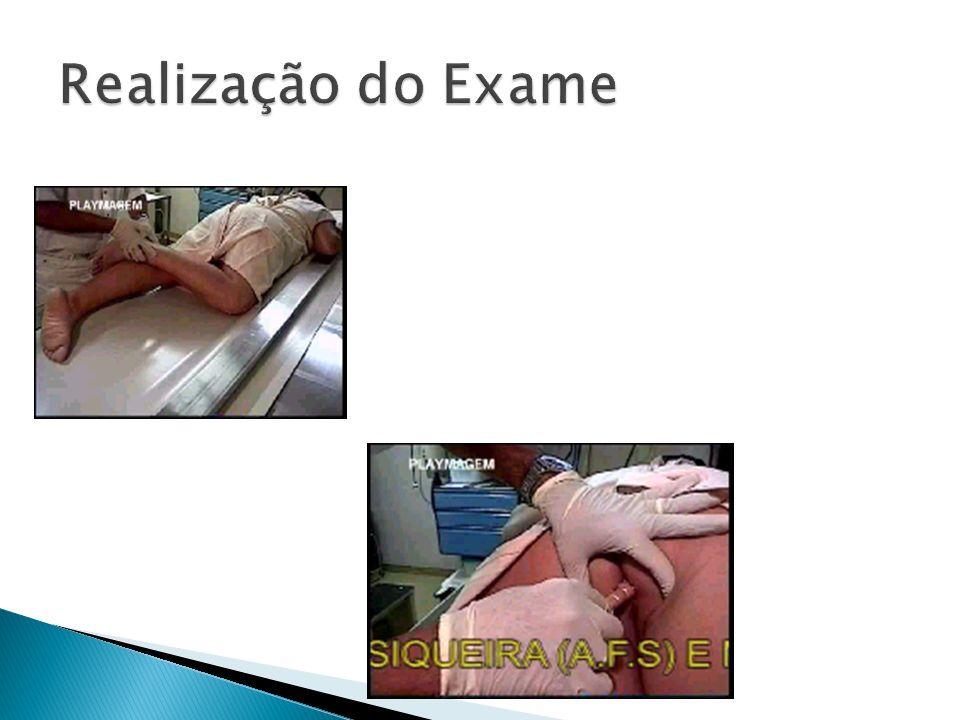 Realização do Exame