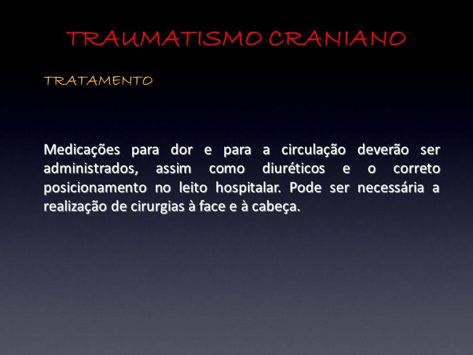 TRAUMATISMO CRANIANO TRATAMENTO