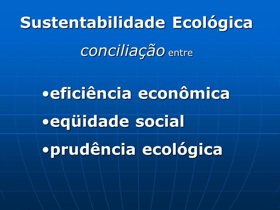 Sustentabilidade Ecológica