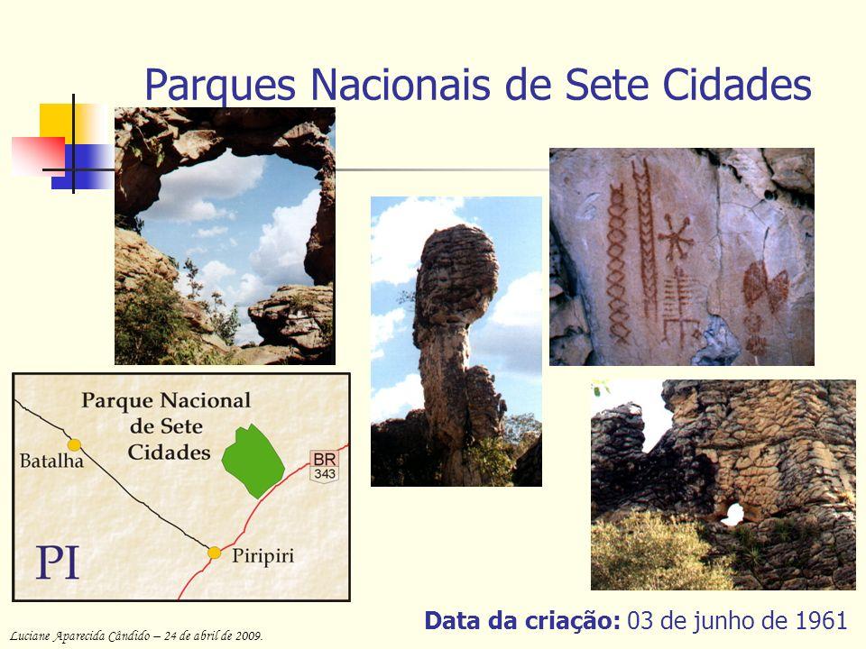 Parques Nacionais de Sete Cidades