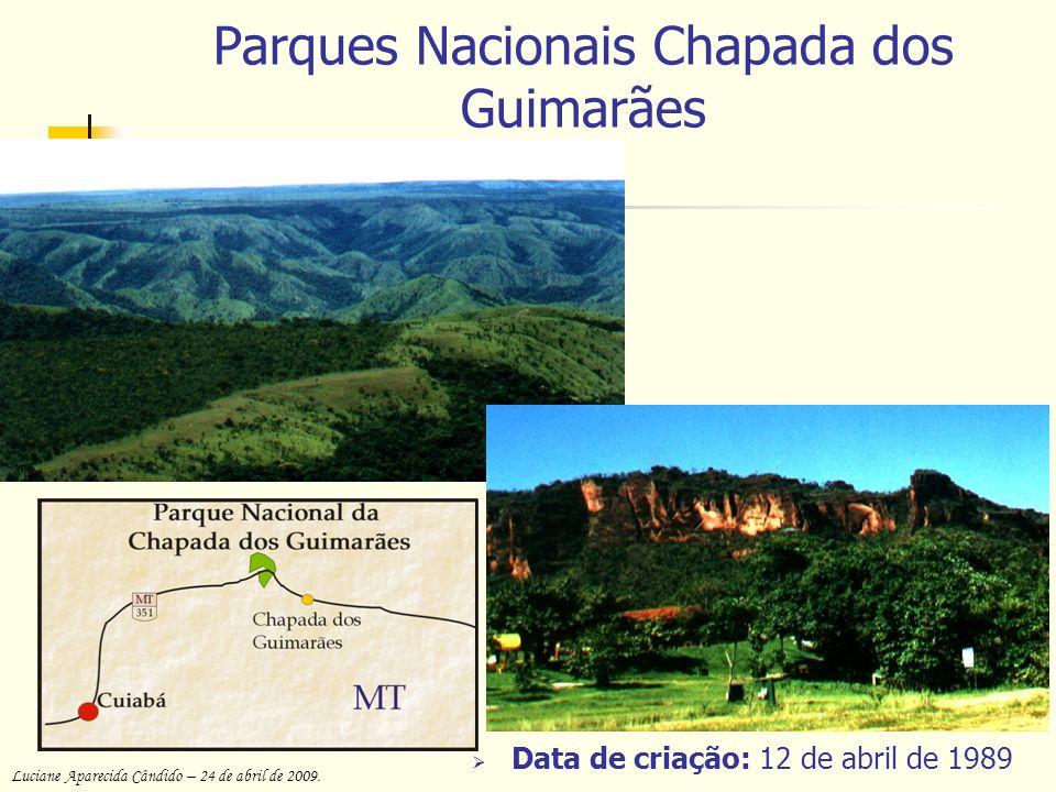 Parques Nacionais Chapada dos Guimarães