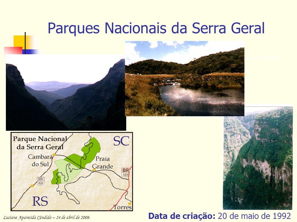 Parques Nacionais da Serra Geral