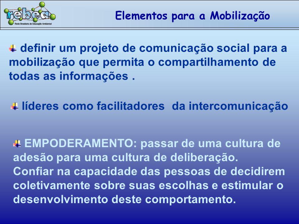 líderes como facilitadores da intercomunicação