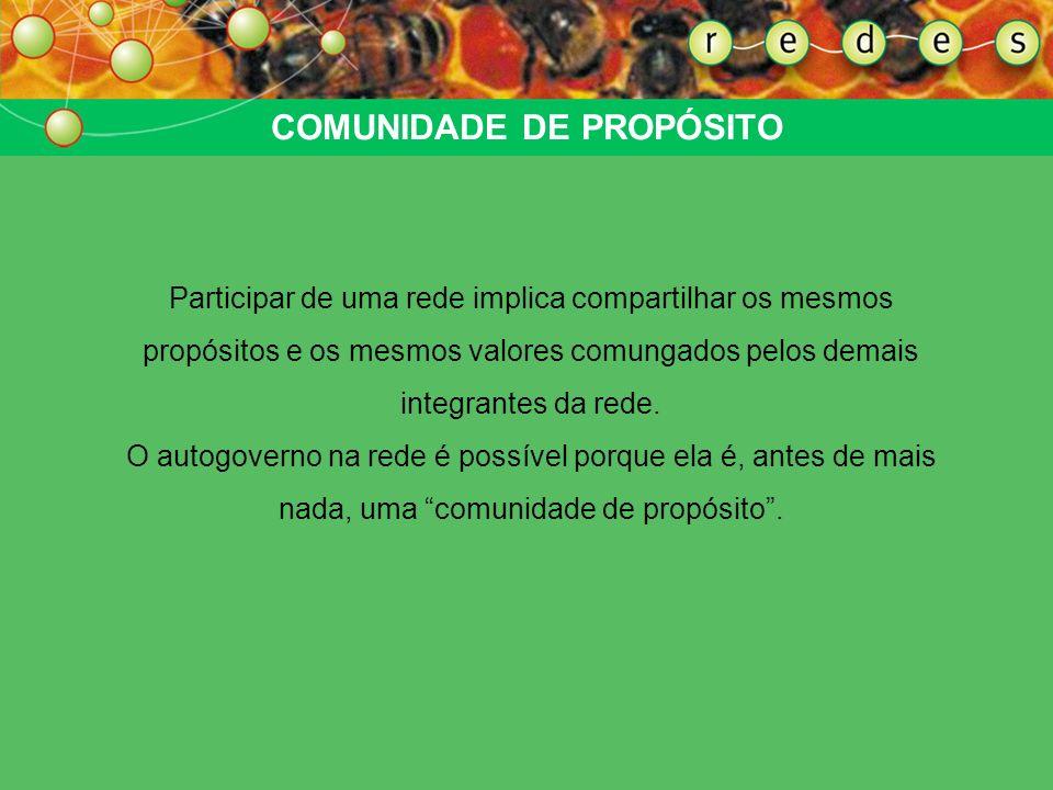 COMUNIDADE DE PROPÓSITO