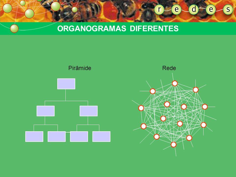 ORGANOGRAMAS DIFERENTES