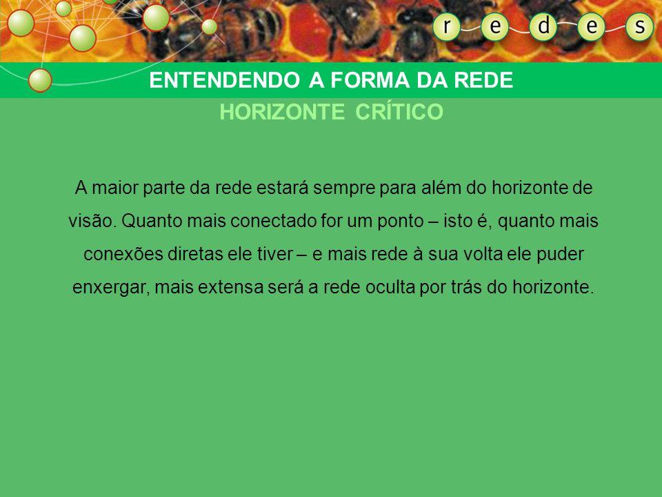 ENTENDENDO A FORMA DA REDE HORIZONTE CRÍTICO