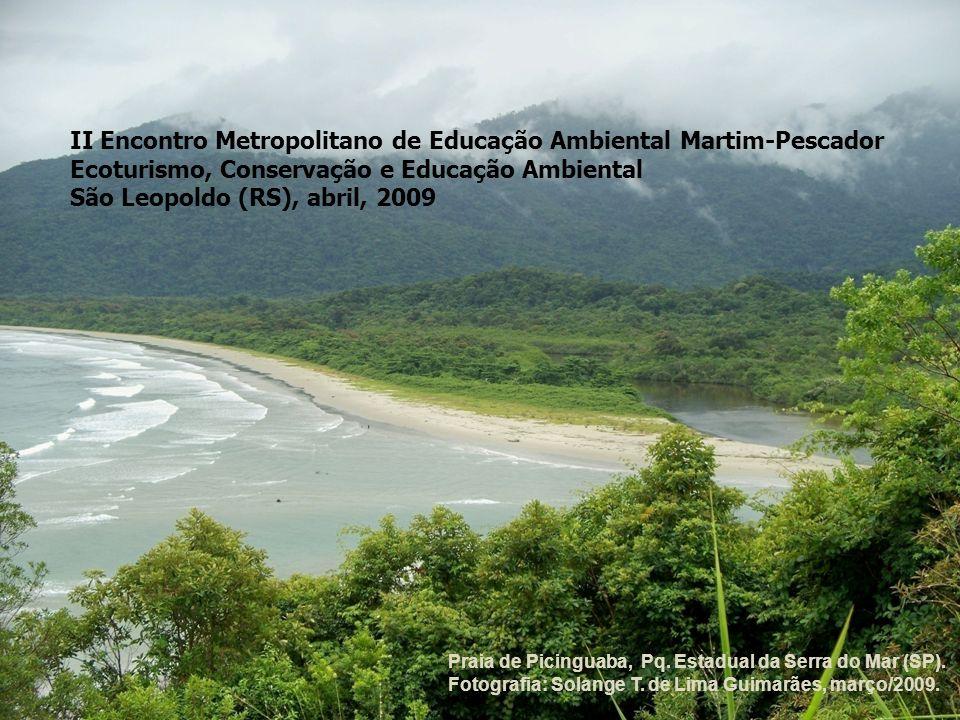 II Encontro Metropolitano de Educação Ambiental Martim-Pescador