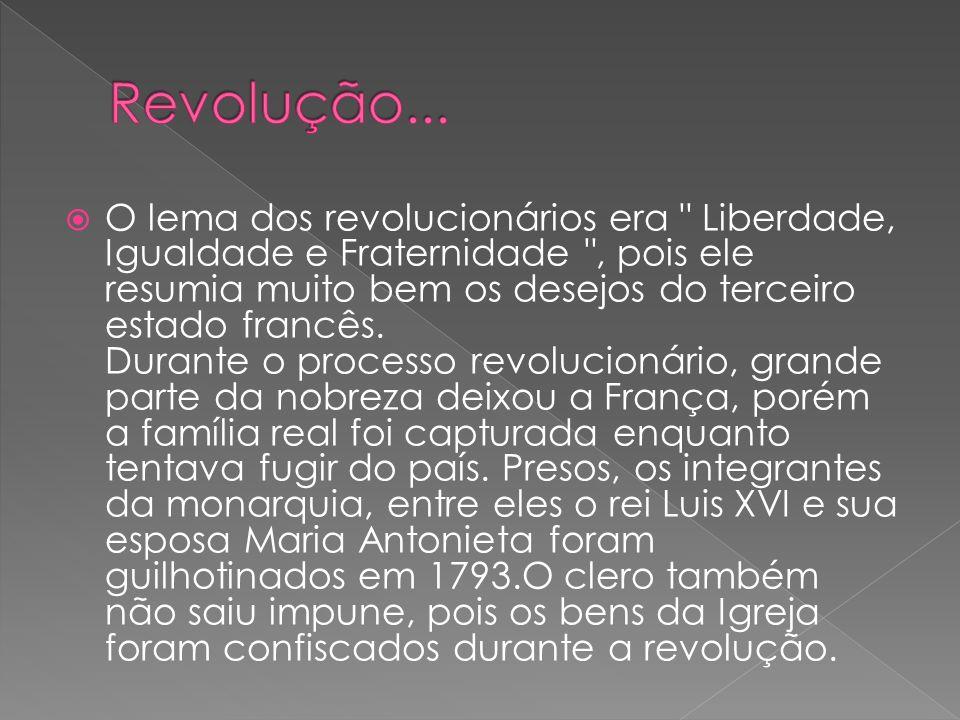Revolução...