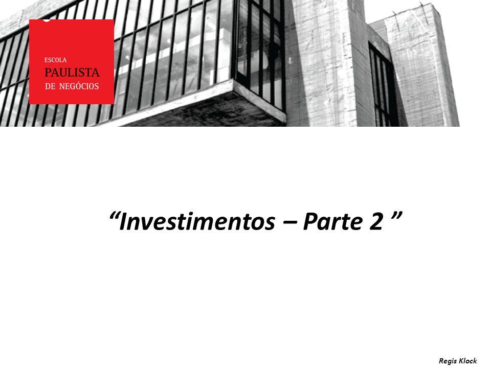 Investimentos – Parte 2