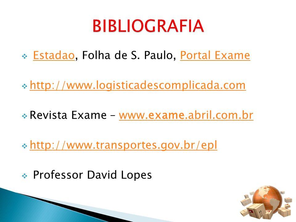 BIBLIOGRAFIA Estadao, Folha de S. Paulo, Portal Exame