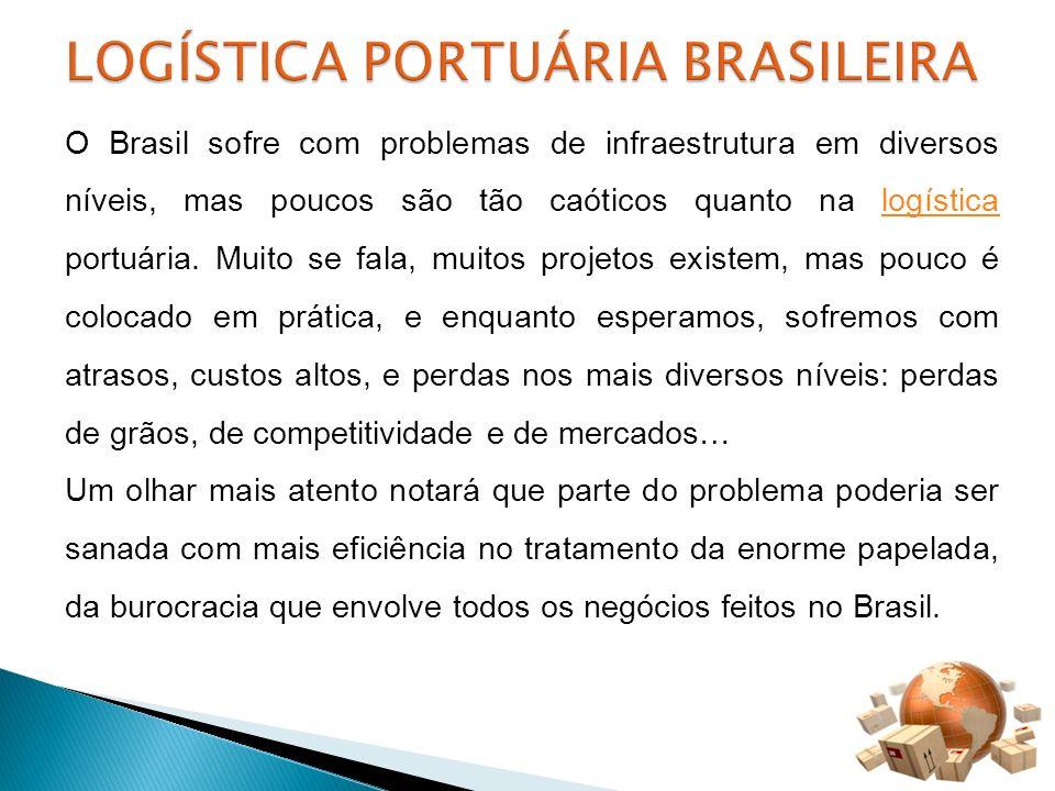 LOGÍSTICA PORTUÁRIA BRASILEIRA