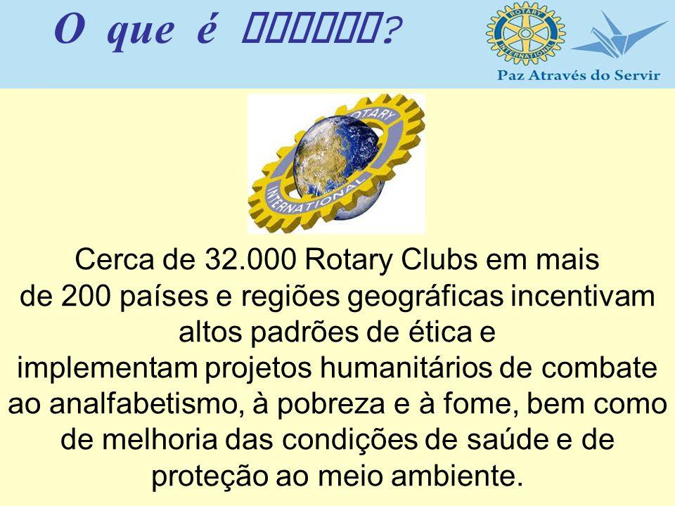 Cerca de 32.000 Rotary Clubs em mais