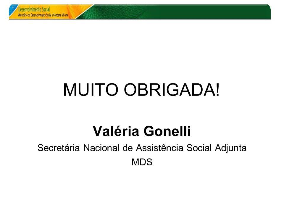 Secretária Nacional de Assistência Social Adjunta