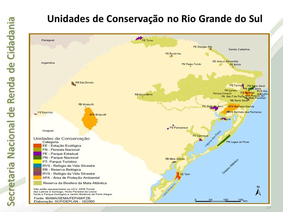 Unidades de Conservação no Rio Grande do Sul