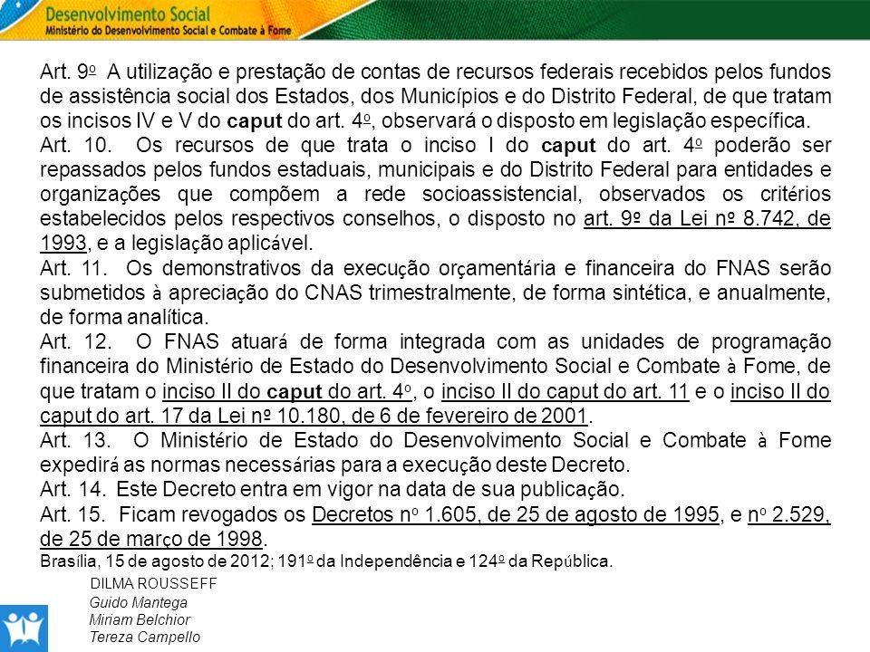 Art. 14. Este Decreto entra em vigor na data de sua publicação.