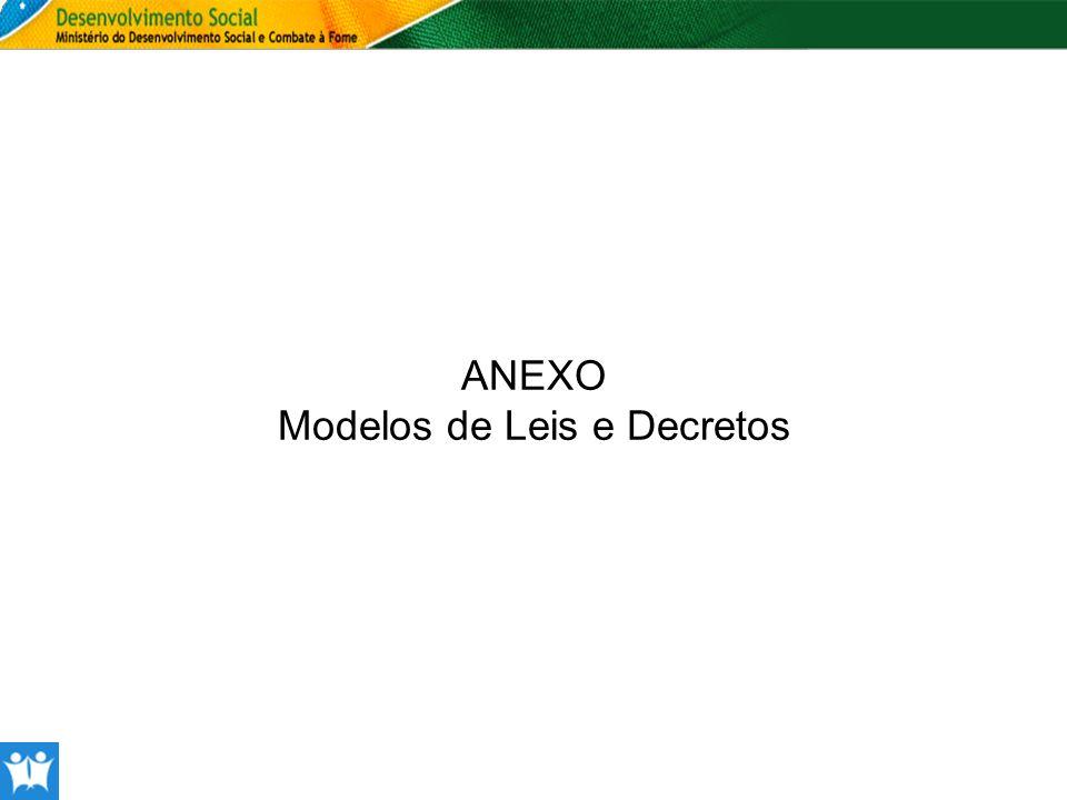 Modelos de Leis e Decretos