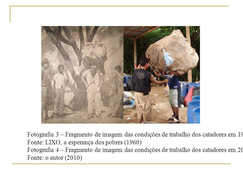 Fotografia 3 – Fragmento de imagem das condições de trabalho dos catadores em 1960
