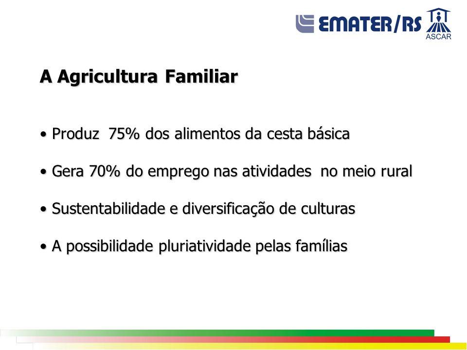 A Agricultura Familiar