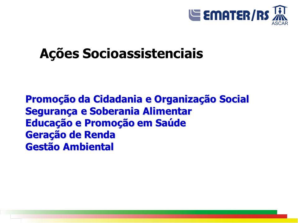 Ações Socioassistenciais