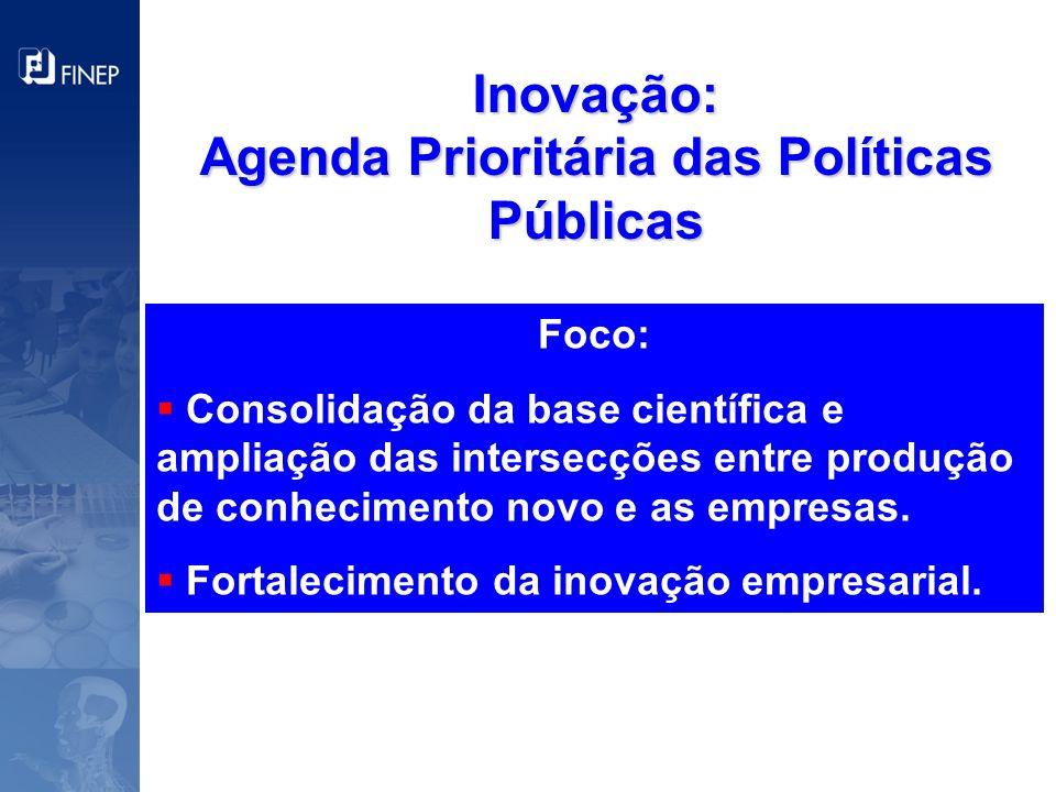 Agenda Prioritária das Políticas Públicas