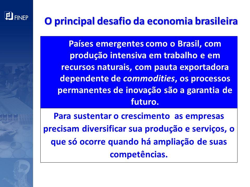 O principal desafio da economia brasileira