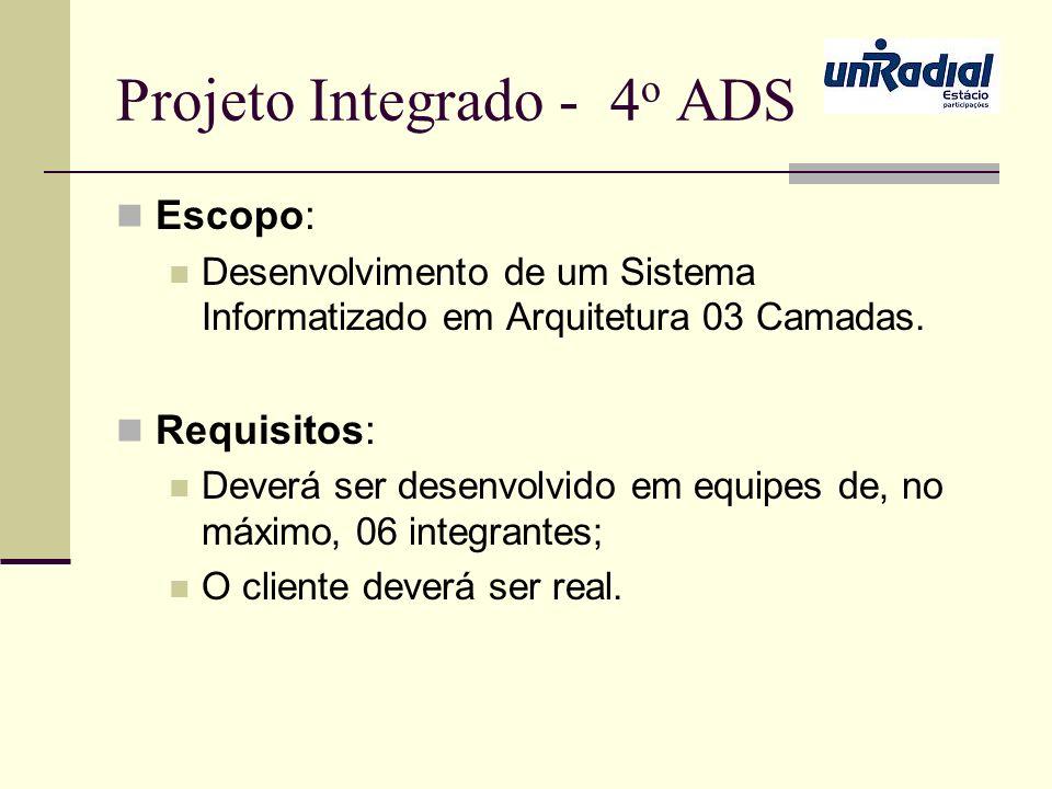 Projeto Integrado - 4o ADS