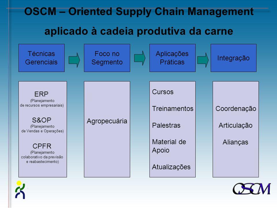 OSCM – Oriented Supply Chain Management aplicado à cadeia produtiva da carne