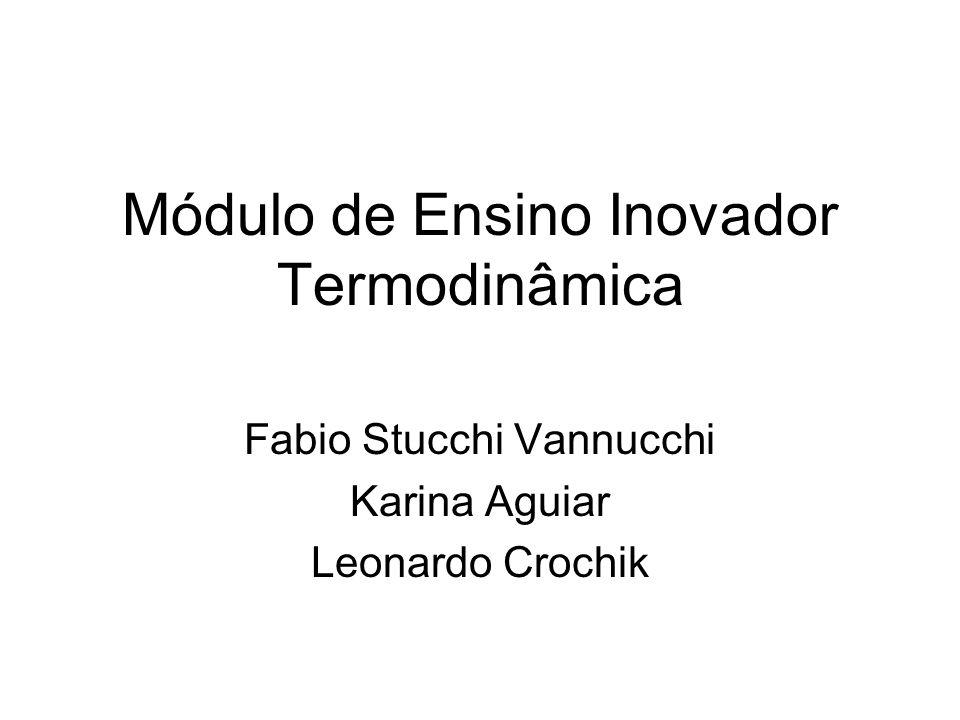 Módulo de Ensino Inovador Termodinâmica
