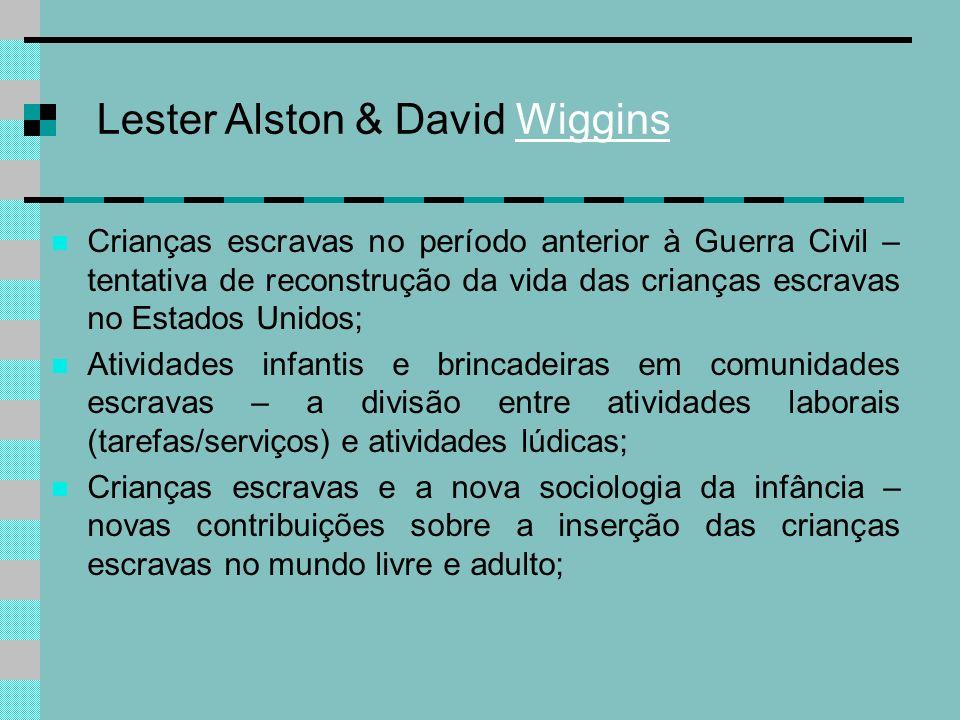 Lester Alston & David Wiggins