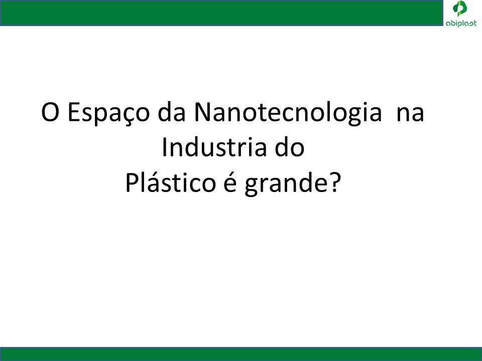 O Espaço da Nanotecnologia na Industria do Plástico é grande