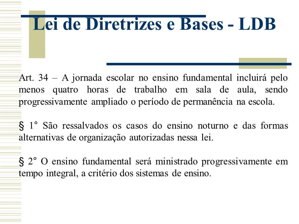 Lei de Diretrizes e Bases - LDB