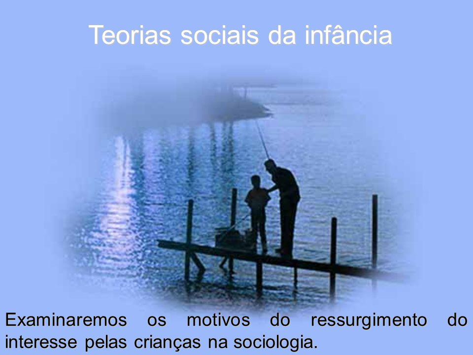 Teorias sociais da infância