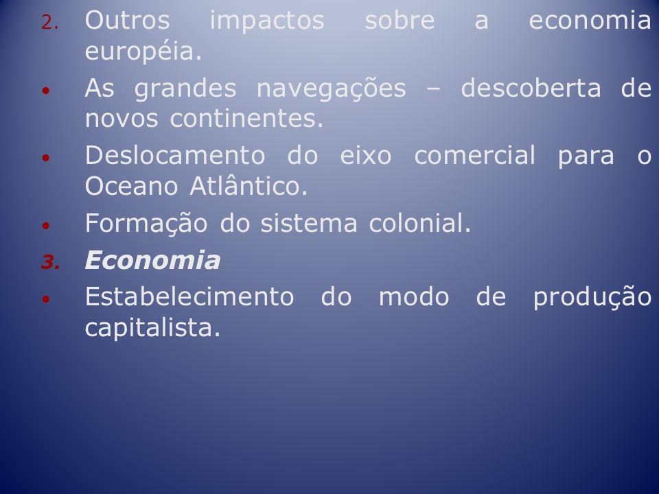 Outros impactos sobre a economia européia.