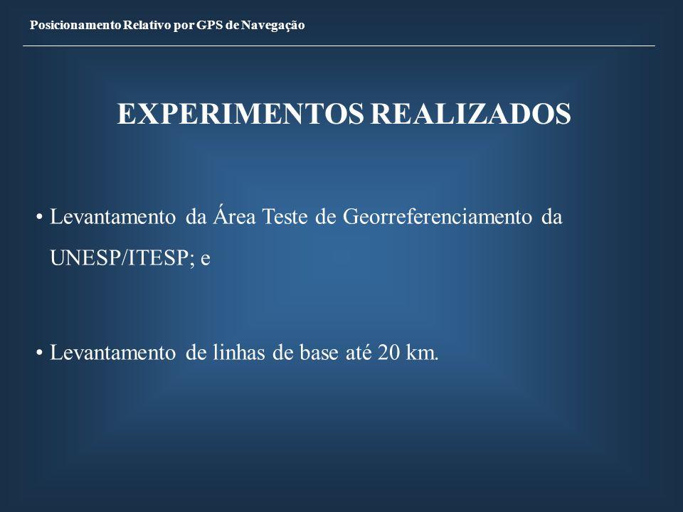 EXPERIMENTOS REALIZADOS