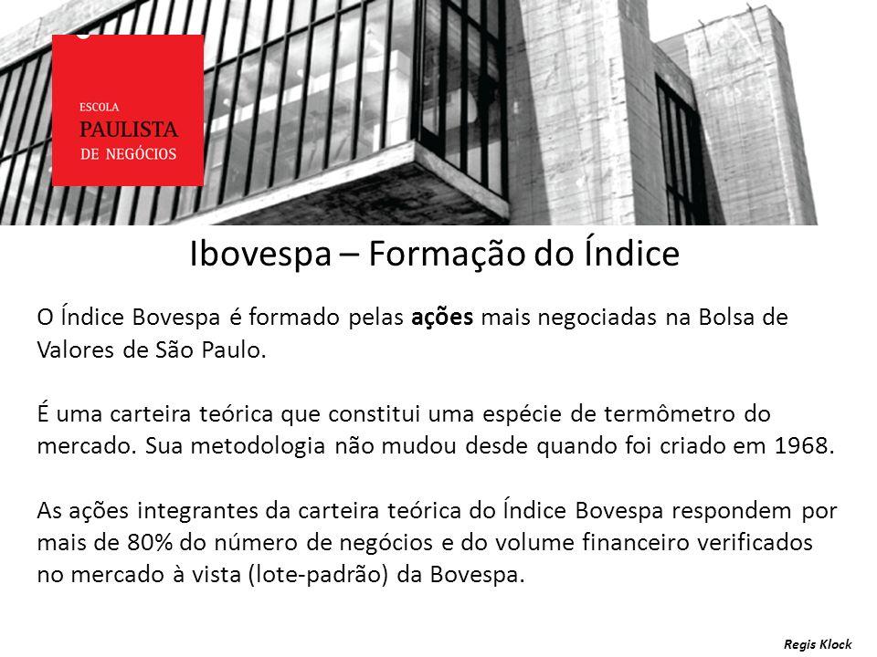 Ibovespa – Formação do Índice