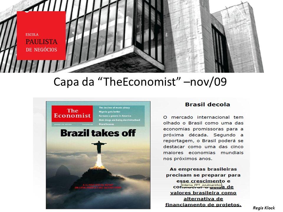 Capa da TheEconomist –nov/09