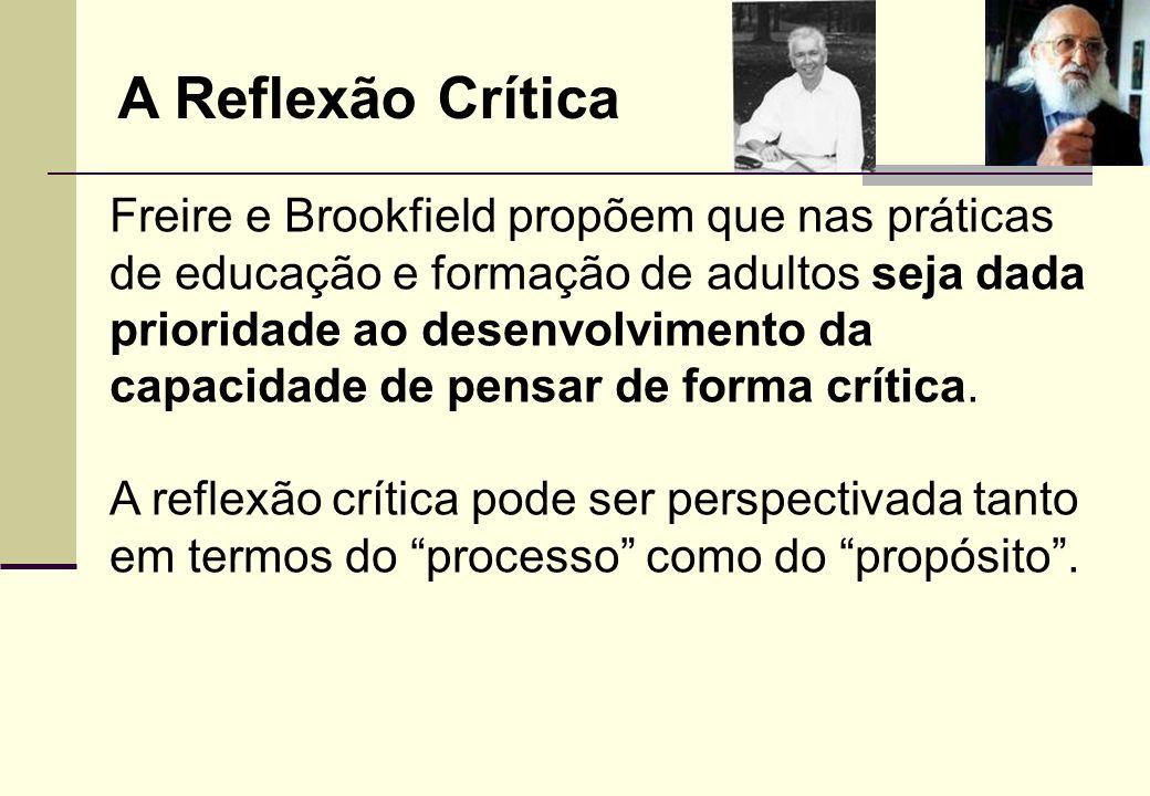 A Reflexão Crítica