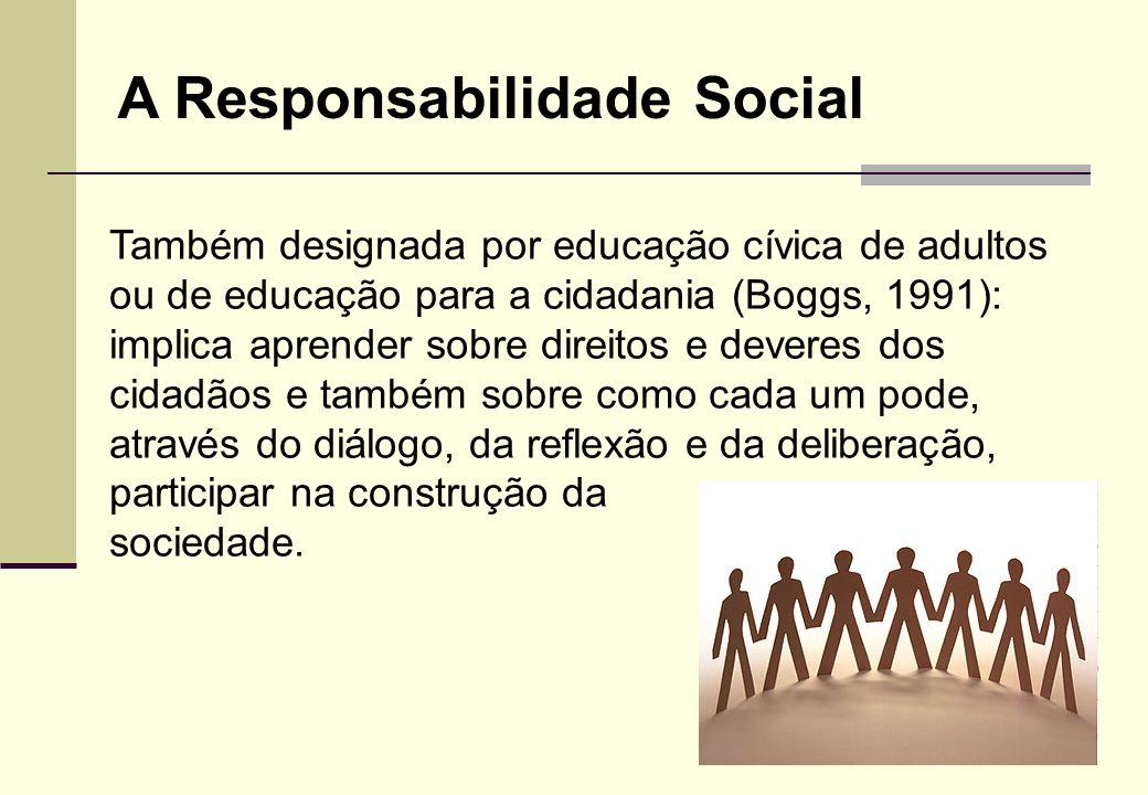 A Responsabilidade Social