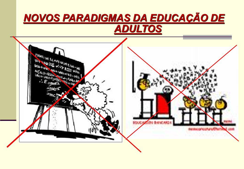 NOVOS PARADIGMAS DA EDUCAÇÃO DE ADULTOS