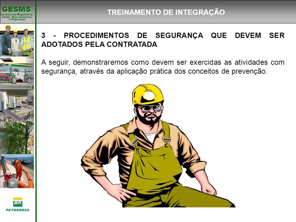 TREINAMENTO DE INTEGRAÇÃO