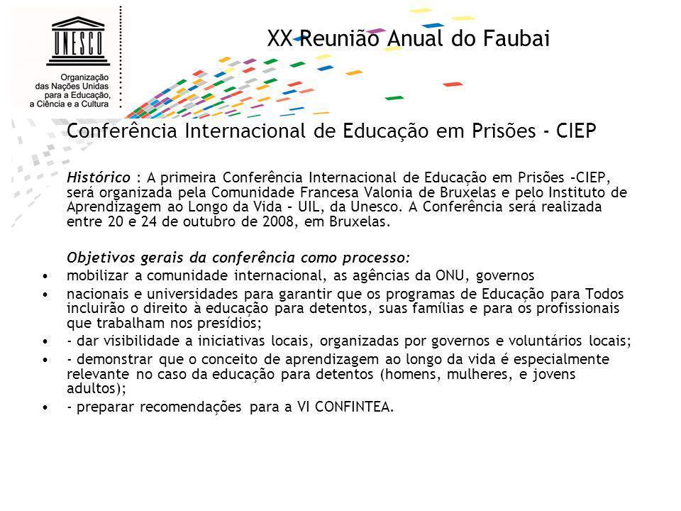 XX Reunião Anual do Faubai