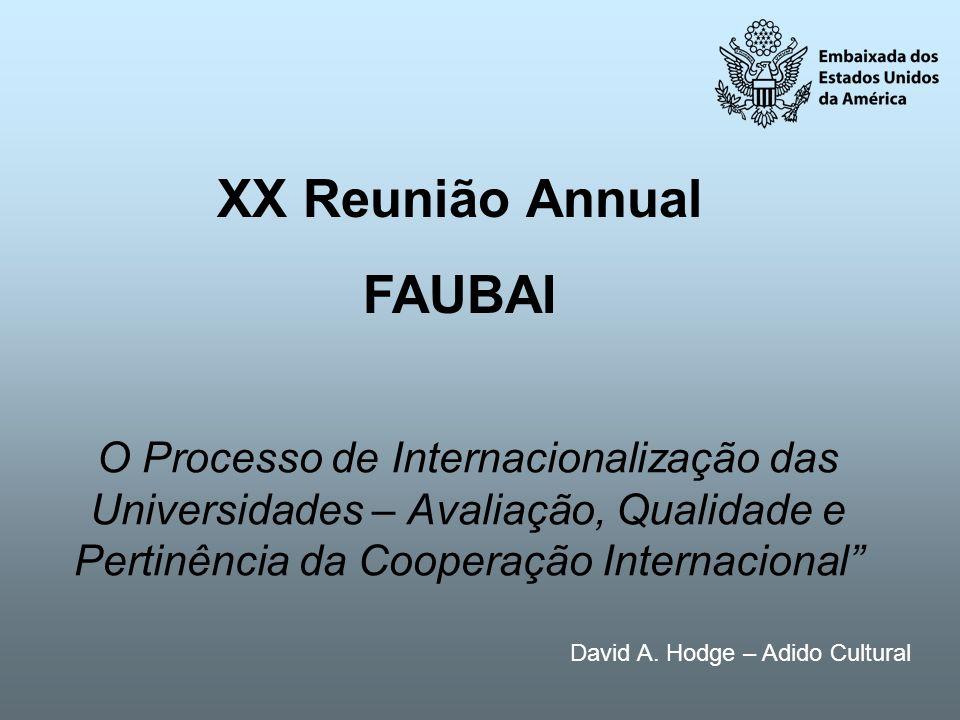 XX Reunião Annual FAUBAI