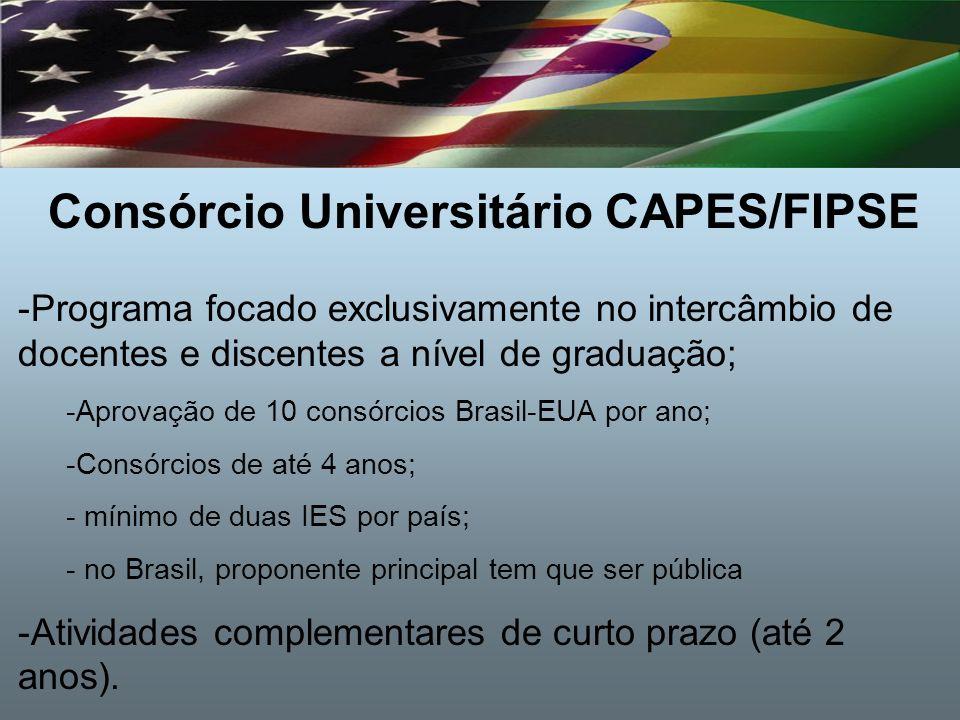 Consórcio Universitário CAPES/FIPSE