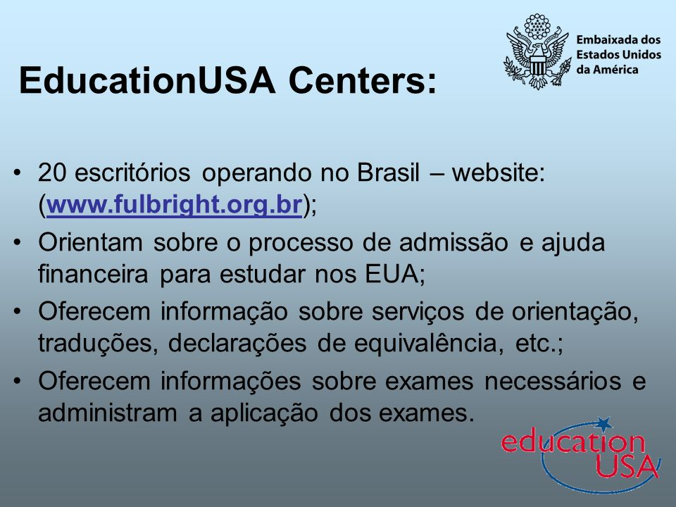 EducationUSA Centers: