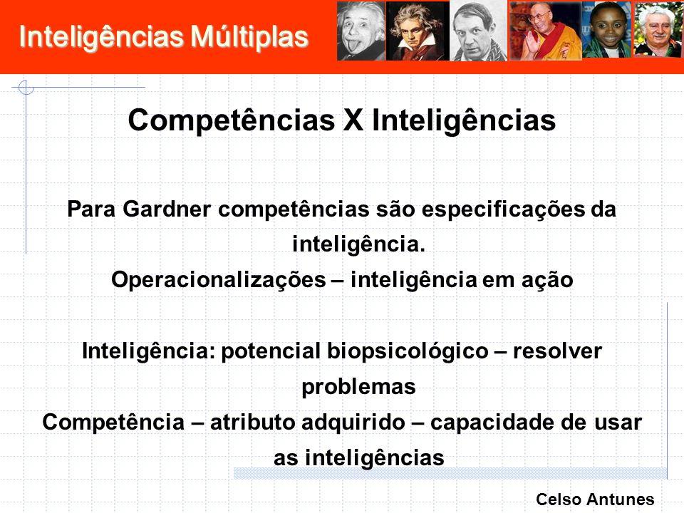 Competências X Inteligências