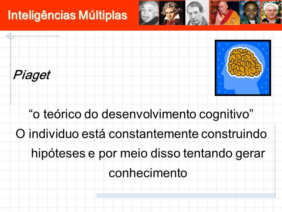 o teórico do desenvolvimento cognitivo