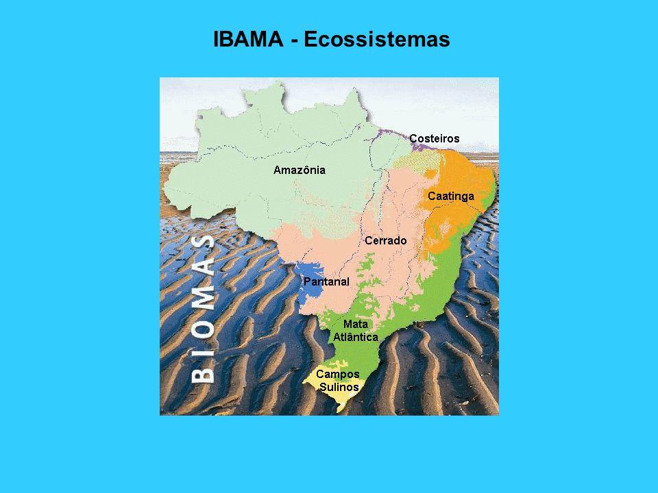 IBAMA - Ecossistemas