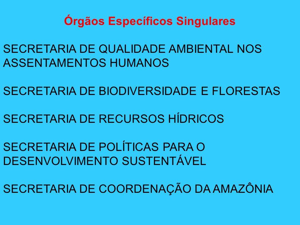 Órgãos Específicos Singulares
