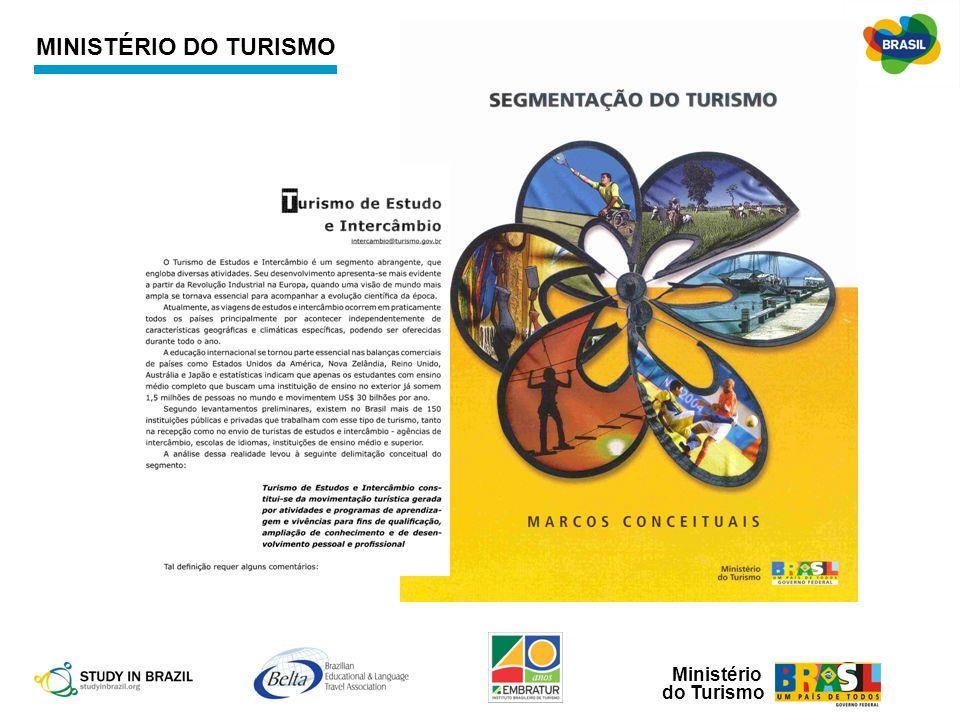 MINISTÉRIO DO TURISMO Traçadas as diretrizes